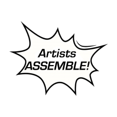 Creators Challenge Artists ASSEMBLE Bubble